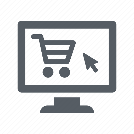 business, computer, online, screen, shop, webshop icon