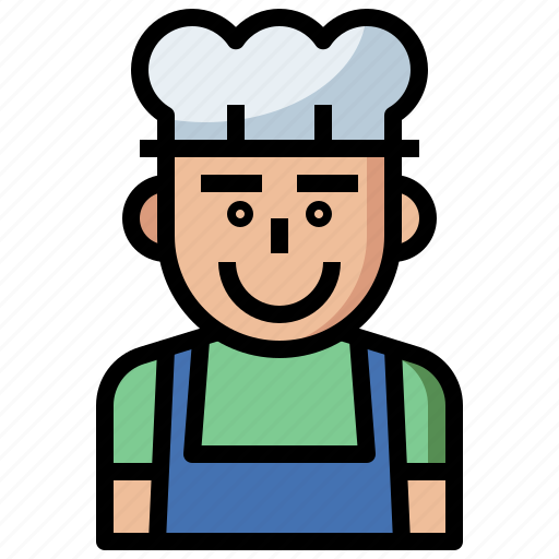 avatar, avatars, chef, cook, cooker, cooking, kitchen, moustache, people, restaurant, user icon