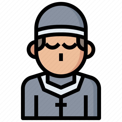 avatar, christian, job, jobs, occupation, people, priest, profession, professions, religious, user icon