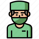 care, clinic, doctor, health, hospital, job, jobs, profession, professions, surgeon icon