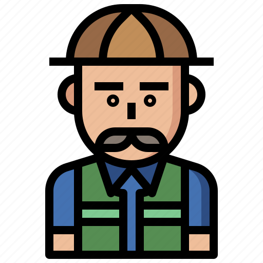 avatar, guide, hunter, job, jobs, man, people, profession, professions, safari icon