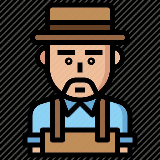 avatar, farmer, farming, gardening, job, jobs, man, occupation, people, profession, professions icon