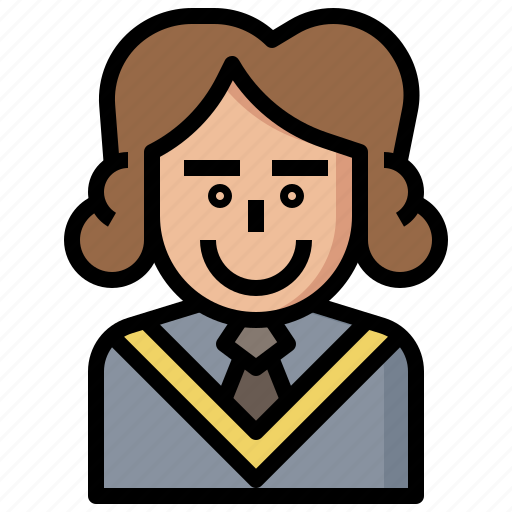 Avatar, judge, jury, justice, law, occupation, people icon - Download on Iconfinder