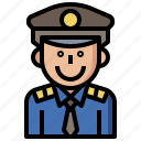 avatars, business, finance, guard, guardian, occupation, police, policeman, policemen icon