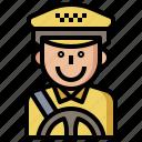 avatar, avatars, driver, job, jobs, people, profession, professions, profile, social, taxi, user