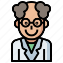 clinic, doctor, job, jobs, profession, professions, research, scientist, technician icon