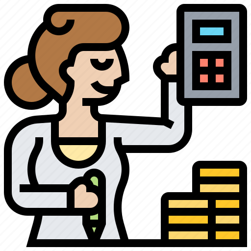 Accountant Bookkeeper Bureaucracy Consultant Financial Icon Download On Iconfinder