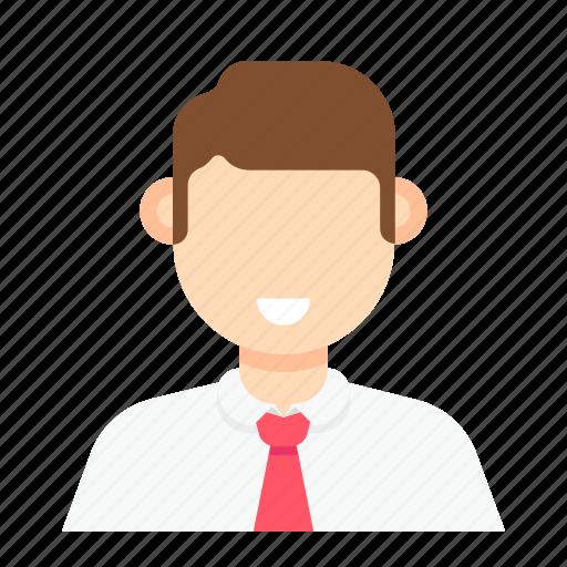 employee, man, occupation, staff icon