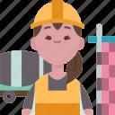 construction, worker, engineer, civil, contractor