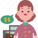 merchant, cashier, store, payment