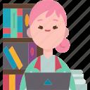 novelist, librarian, writer, author, columnist