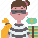 thief, criminal, robbery, steal, burglar