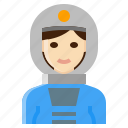 astronaut, female, occupation, space, woman
