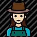 farmer, female, gardener, occupation, woman