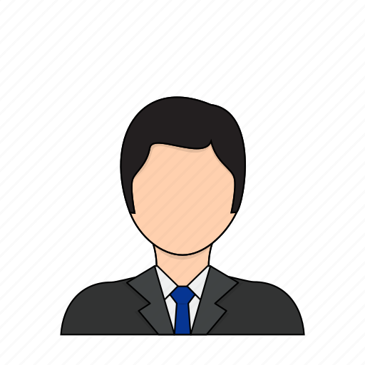 business, businessman, management, manager, occupation, profession icon