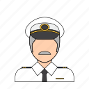 airline, flight, occupation, pilot, plane, profession