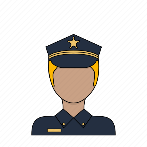 man, occupation, police, profession, safety, security icon