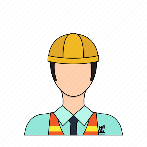 builder, construction, engineer, occupation, profession icon