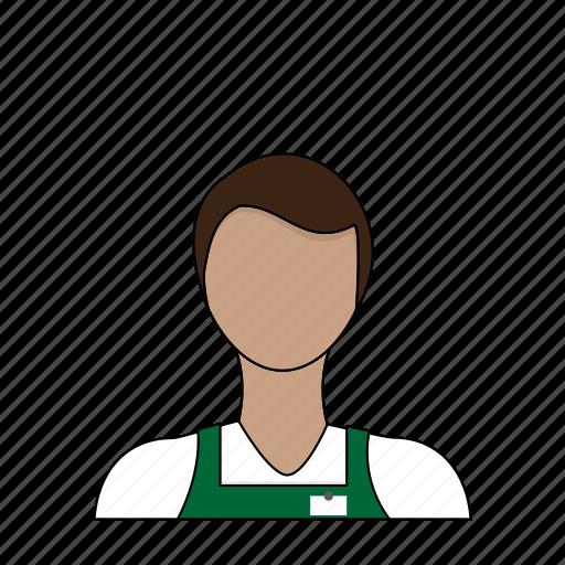 barista, coffee, coffee maker, occupation, profession, restaurant, server icon