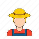 farm, farmer, farming, occupation, profession icon