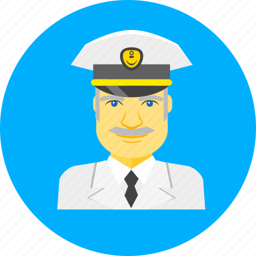 boat, captain, marine, nautical, ocean, sea, ship captain icon