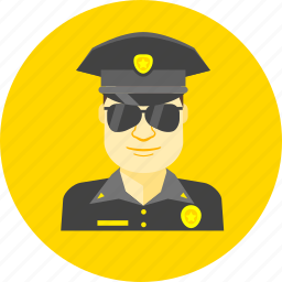 guard, officer, policeman, protection, secure, security, sheriff icon