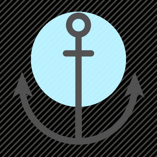 Anchor, harbor, ocean, port, seal icon - Download on Iconfinder
