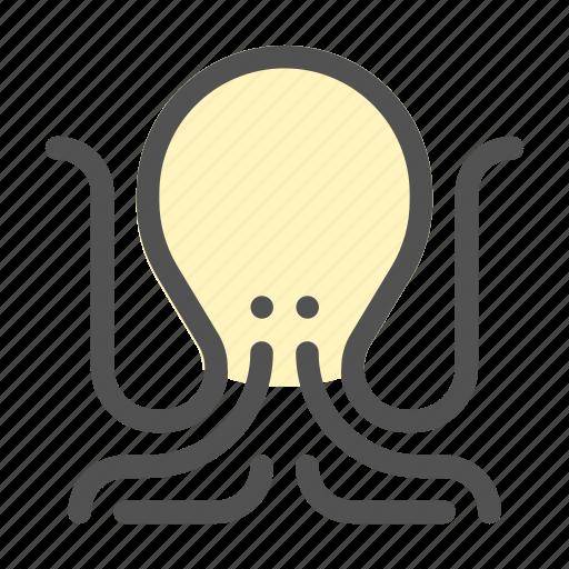 Creatures, ocean, octopus, sea, tentacle icon - Download on Iconfinder