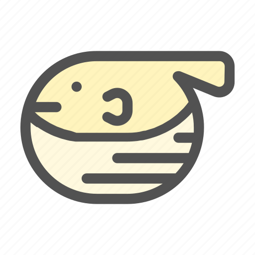 animal, fish, ocean, puffer, sea icon