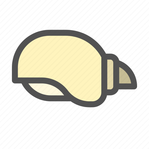 Ocean, sea, seashell, shell, snail icon - Download on Iconfinder