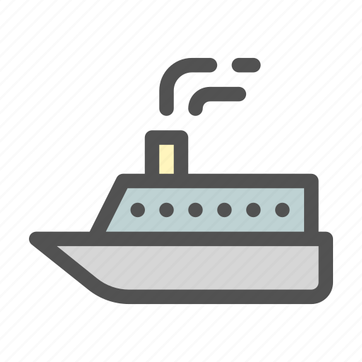 Cruise, ocean, sea, ship icon - Download on Iconfinder