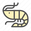 creatures, lobster, ocean, sea, shrimp icon