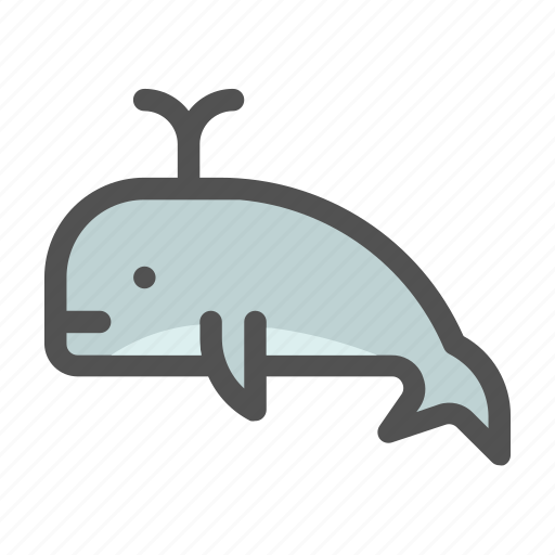 Animal, blue, ocean, sea, whale icon - Download on Iconfinder