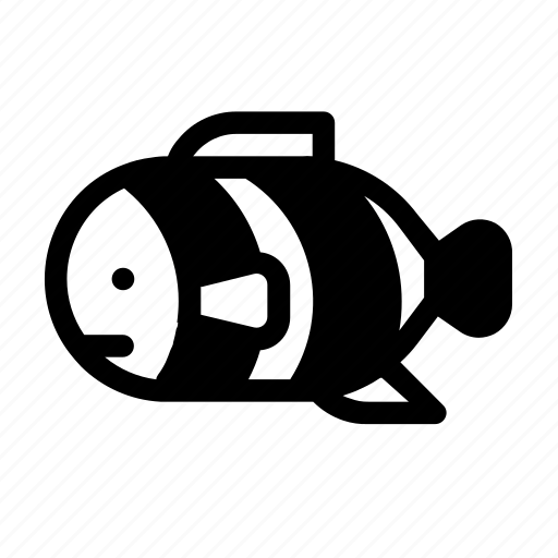 Clown, creatures, fish, ocean, sea icon - Download on Iconfinder