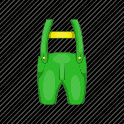 cartoon, cloth, design, illustration, pants, sign, suspenders icon