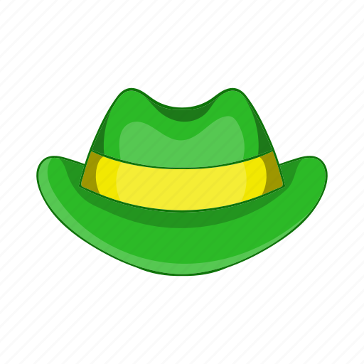 cartoon, green, hat, holiday, illustration, irish, sign icon