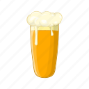 alcohol, beer, cartoon, glass, illustration, pub, sign icon