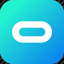 gear, oculus, reality, virtual, vr icon
