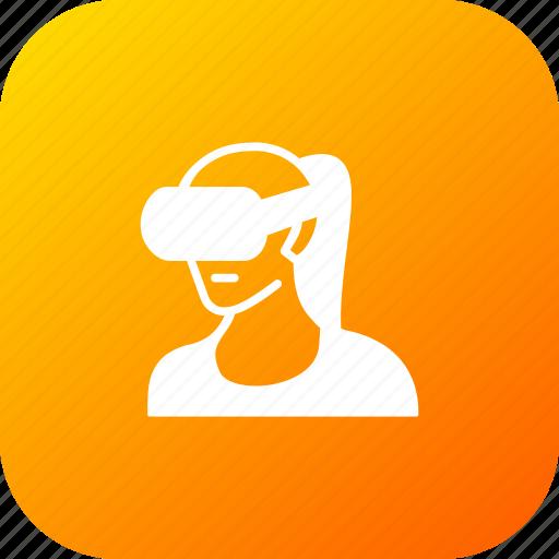 oculus, reality, sdk, virtual, vr icon