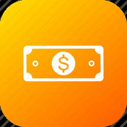 card, cash, dollar, money, note, offer, voucher icon