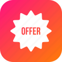 coupon, discount, offer, sale, voucher icon