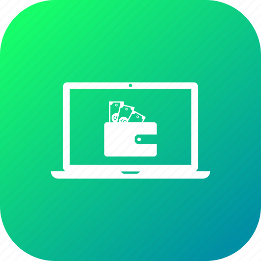 cash, discount, lcd, money, offer, sale, wallet icon