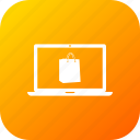 bag, desktop, discount, monitor, offer, sale, shopping icon