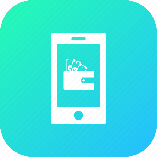 cash, discount, money, offer, sale, smartphone, wallet icon
