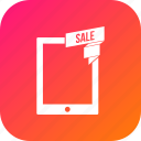 discount, offer, sale, tab, tablet
