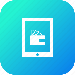cash, discount, money, offer, sale, tab, tablet icon