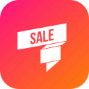 badge, discount, free, offer, ribbon, sale icon