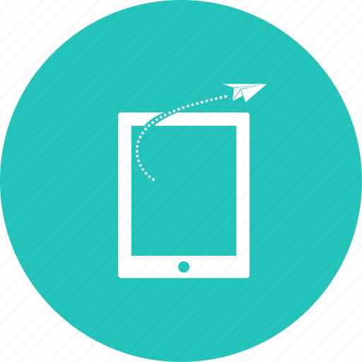 discount, goal, mobilephone, offer, progress, rocket, sale icon