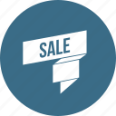 discount, offer, ribbin, ribbon, sale icon