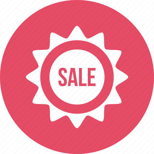 coupon, discount, less, sale, sticker icon